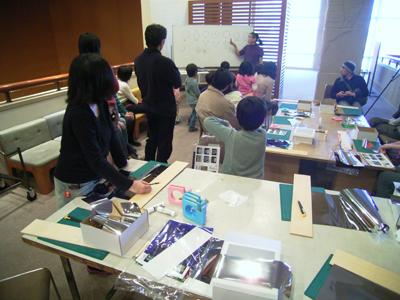 松村さんのワークショップ(17日)