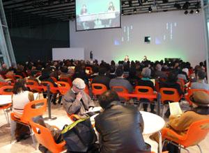 満員御礼の小池光さんと俵万智さんのトークセッション