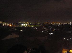菅野美術館から見える夜景